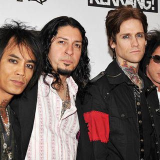 Buckcherry in Kerrang! Awards 2009 - Arrivals - SPX-031991