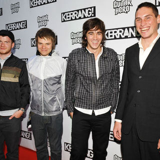 Enter Shikari in Kerrang! Awards 2009 - Arrivals