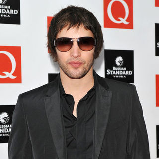 James Blunt in Q Awards 2009 - Arrivals