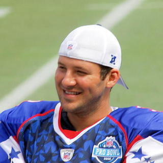 Tony Romo in 2008 National Football League (NFL) Pro Bowl All-Star Football Game