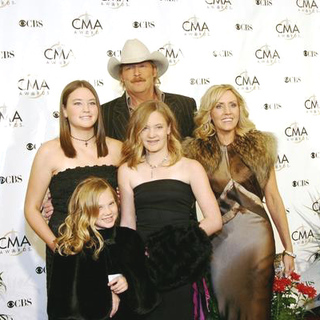 Alan Jackson in 38th Annual Country Music Awards Arrivals