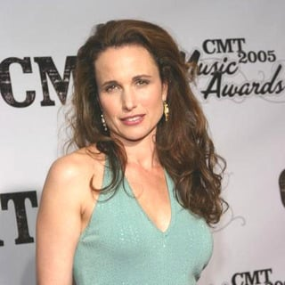 Andie MacDowell in 2005 CMT Music Awards