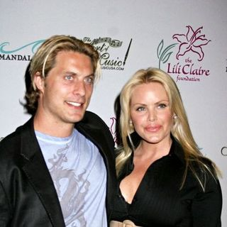 Gena Lee Nolin, Cale Hulse in 'A Concert For Lili Claire' 2007 Benefit Dinner and Concert - Red Carpet Arrivals