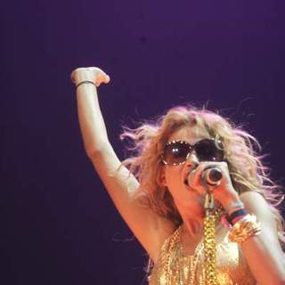 Paulina Rubio Performs Live In Concert - TTO-004786