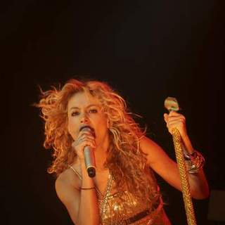 Paulina Rubio in Paulina Rubio Performs Live In Concert