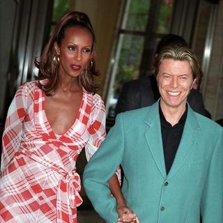 David Bowie, Iman in The Film Society Tribute to Susan Sarandon