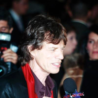 Mick Jagger in Alfie Movie Premiere