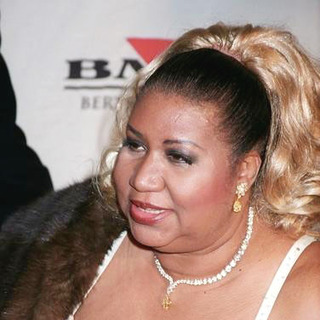 Aretha Franklin in 45th Annual GRAMMY Awards BMG After Party