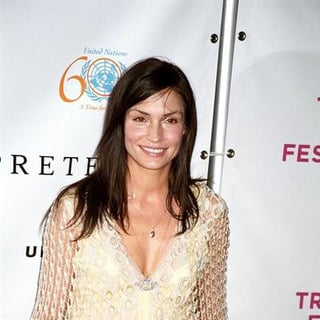 Famke Janssen in The Interpreter Movie Premiere at the 4th Annual Tribeca Film Festival