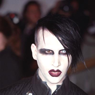 Marilyn Manson in Chanel Costume Institute Gala at The Metropolitan Museum of Art
