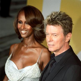 David Bowie, Iman in 2005 CFDA Fashion Awards
