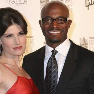 Taye Diggs, Idina Menzel in 38th Annual Songwriters Hall of Fame Ceremony - Arrivals