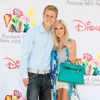 "Spencer Pratt, Heidi Montag in 19th Annual ""A Time For Heroes"" Celebrity Carnival - Arrivals and Departures"