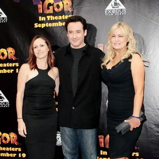 "Molly Shannon, John Cusack, Jennifer Coolidge in ""Igor"" Los Angeles Premiere - Arrivals"