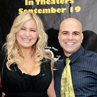 "Jennifer Coolidge, Anthony Leondis in ""Igor"" Los Angeles Premiere - Arrivals"