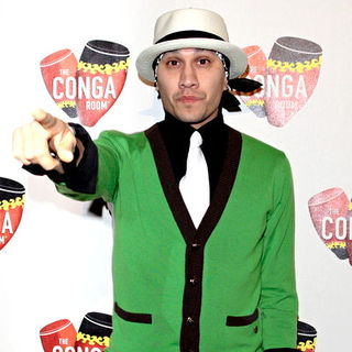 Taboo, Black Eyed Peas in Grand Opening of The Conga Room at LA Live - Arrivals