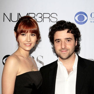 "Vanessa Britting, David Krumholtz in ""Numb3rs"" 100th Episode Bash - Arrivals"