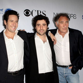 "David Krumholtz, Rob Morrow, Judd Hirsch in ""Numb3rs"" 100th Episode Bash - Arrivals"