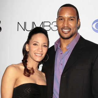 "Sophina Brown, Henry Simmons in ""Numb3rs"" 100th Episode Bash - Arrivals"