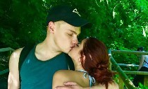 Bikini-Clad Ariel Winter Flashes Her Butt as She Kisses Beau Levi Meaden in PDA-Filled Pic