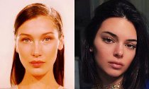 Bella Hadid and Kendall Jenner Hit the Beach Topless in New Throwback Photos