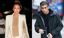 Gigi Hadid & Zayn Malik Holding Hands During Date Night