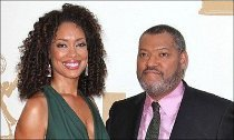 Laurence Fishburne and Gina Torres Split After She's Kissing Another Man