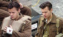 Clean-Cut Harry Styles Spotted on 'Dunkirk' Set