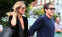 Heidi Klum's BF Denies Cheating Rumors After Kissing Pics Surface
