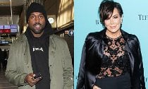 'Uncontrollable' Kanye West Has 'Huge Blow-Ups' With Kris Jenner