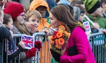 Did Kate Middleton Hint at the Sex of Her Third Baby?
