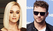 Katy Perry and Ryan Phillippe Are Flirting During Elton John's Birthday Party