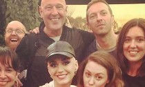Katy Perry and Chris Martin Spotted Holding Hands at Glastonbury