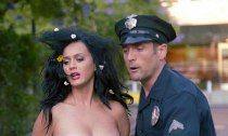 Katy Perry and Joel McHale Get Arrested for Voting Naked in Funny Video