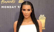 Kim Rocks Cornrows Again at MTV Movie & TV Awards After Backlash