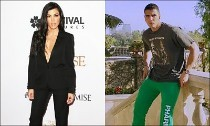 Kourtney Kardashian and Younes Bendjima Flaunt PDA in France