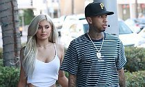Kylie Jenner Goes Makeup Free During a Day Out With Tyga
