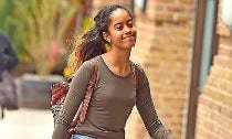 Malia Obama and BF Rory Farquharson Loved Up in NYC
