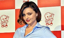 Miranda Kerr Flaunts Huge Engagement Ring