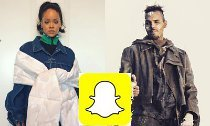 Rihanna and Chris Brown Slam Snapchat for Mocking Battery Case