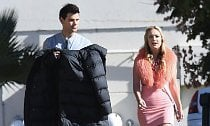 Taylor Lautner Caught Making Out With 'Scream Queens' Co-Star Billie Lourd