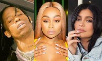 Is Kylie's Beau Travis Scott Flirting With Blac Chyna at a Party?