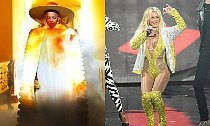 Beyonce Reenacts 'Lemonade' Visuals, Britney Slays 'Make Me' at VMAs