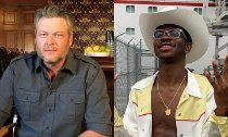 Blake Shelton Denies Dissing Lil Nas X in 'Hell Right'