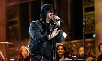 Eminem Performs Nine-Minute Medley of Hit Songs on 'SNL'