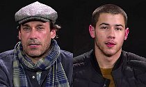 Jon Hamm, Nick Jonas Do Dramatic Reading of Bieber's 'Sorry'
