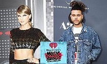Taylor Swift & The Weeknd Lead iHeartRadio Music Awards Nominations
