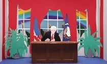 U2 Brings KKK to the White House in Animated Music Video