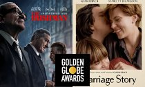 'The Irishman' and 'Marriage Story' Rule Golden Globe Nominations