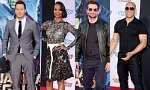 'Guardians of the Galaxy' cast attend the Hollywood premiere.